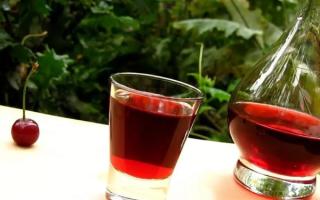 4 простых рецепта приготовления настойки из вишни — на самогоне, водке, спирту и коньяке