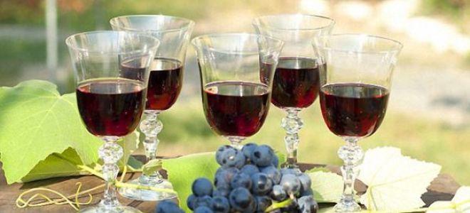 Простой рецепт вина из Изабеллы в домашних условиях
