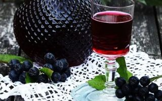 Домашнее вино из черноплодной рябины — 5 лучших рецептов