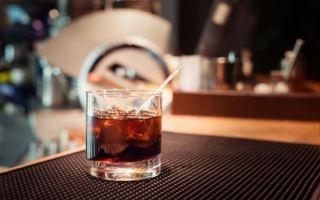 Простой способ приготовления коктейля «Черный русский» (Black Russian)
