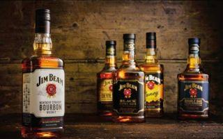 Американский виски «Джим Бим» (Jim Beam) — лучший бурбон во всем мире
